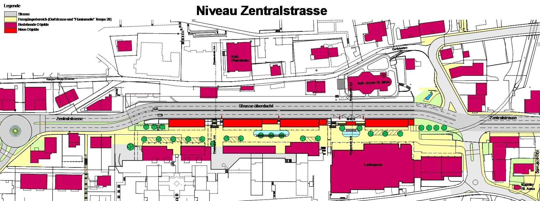 Ebikon Niveau Zentralstrasse